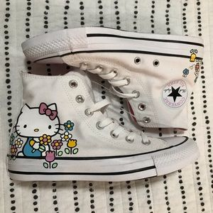 Hello Kitty x Converse All Star, White & Pink